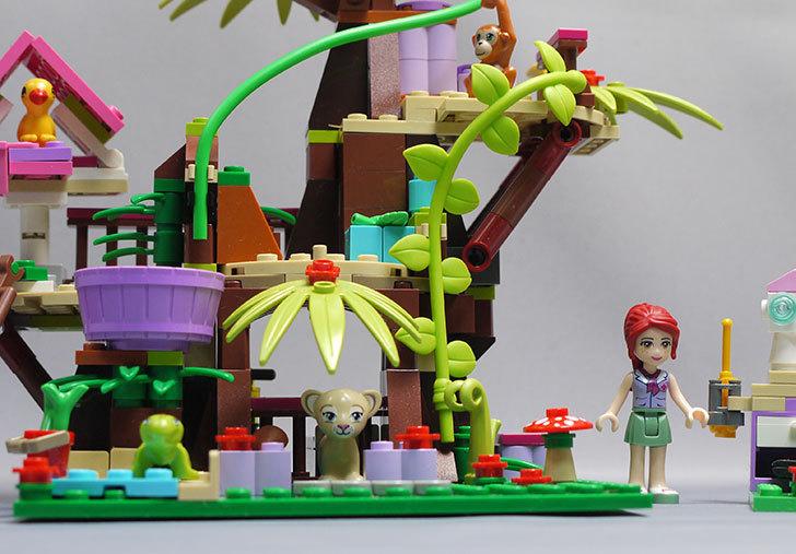 LEGO-41059-サンクチュアリジャングルツリーを作った1.jpg
