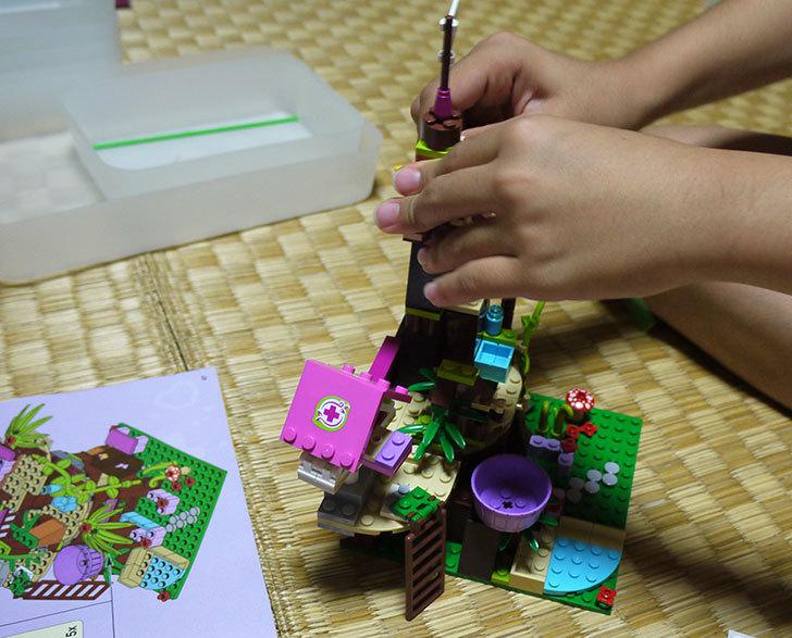 LEGO-41059-サンクチュアリジャングルツリーを作った14.jpg