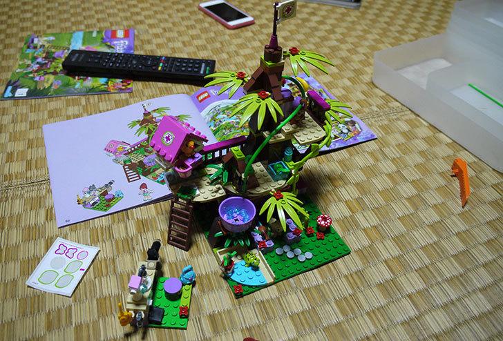 LEGO-41059-サンクチュアリジャングルツリーを作った15.jpg