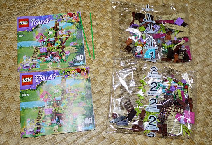 LEGO-41059-サンクチュアリジャングルツリーを作った2.jpg