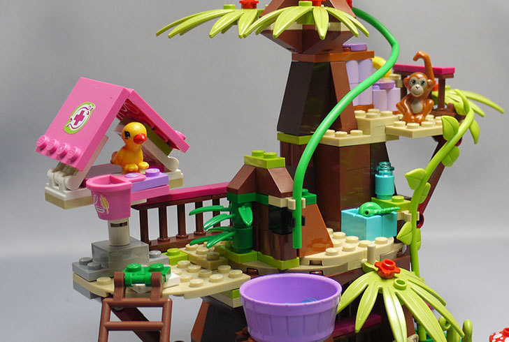 LEGO-41059-サンクチュアリジャングルツリーを作った41.jpg