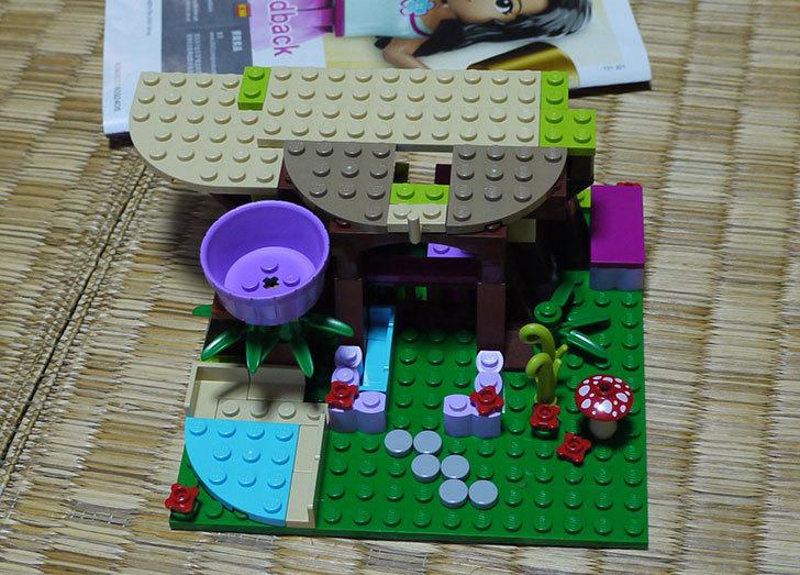LEGO-41059-サンクチュアリジャングルツリーを作った9.jpg
