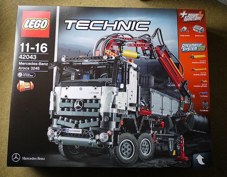 LEGO-42043-メルセデス・ベンツ-アロクス-3245が届いた1.jpg