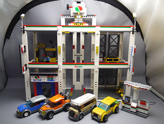 LEGO-4207-パーキングを作った1.jpg