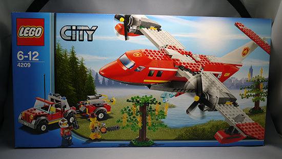 LEGO-4209-フォレストファイヤープレーンが届いた。44%off1.jpg