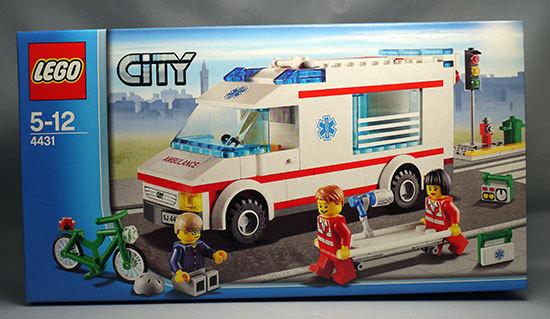 LEGO-4431-タウン-救急車が届いた。40%offでポチったやつ1.jpg