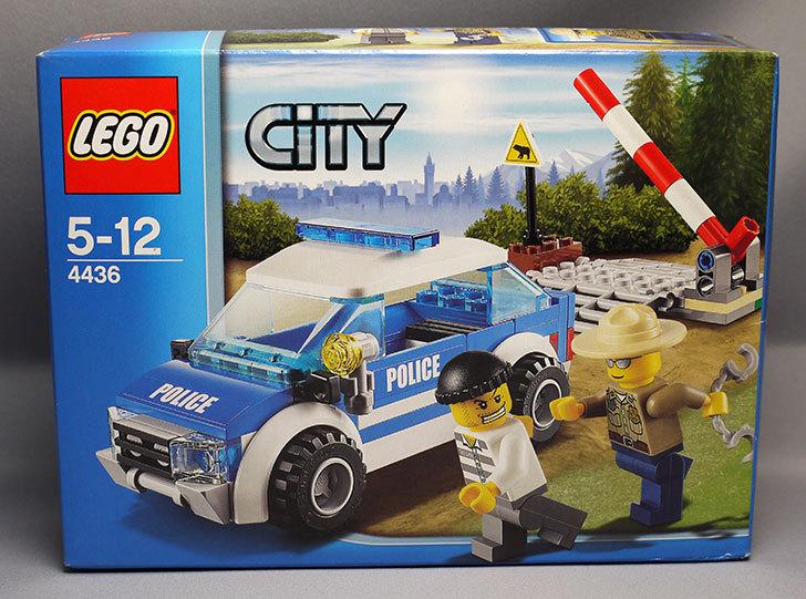 LEGO-4436-フォレストポリスパトロールカーが届いた1.jpg