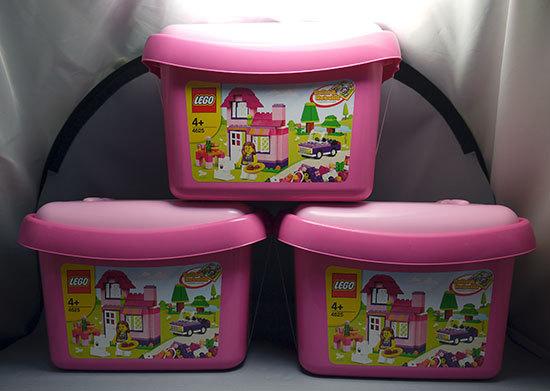 LEGO-4625-ピンクのコンテナが3個届いた。57%offで買った物1.jpg