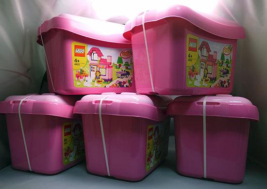 LEGO-4625-ピンクのコンテナが3個届いた。57%offで買った物2.jpg