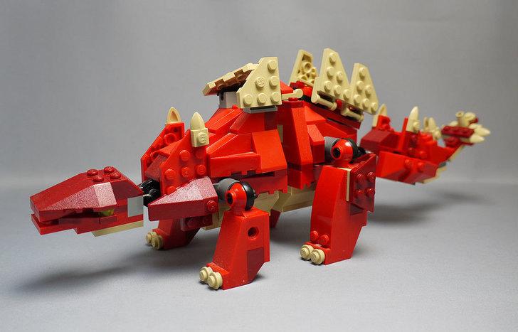 LEGO-4892-トリケラトプスの組み替えステゴザウルス1.jpg