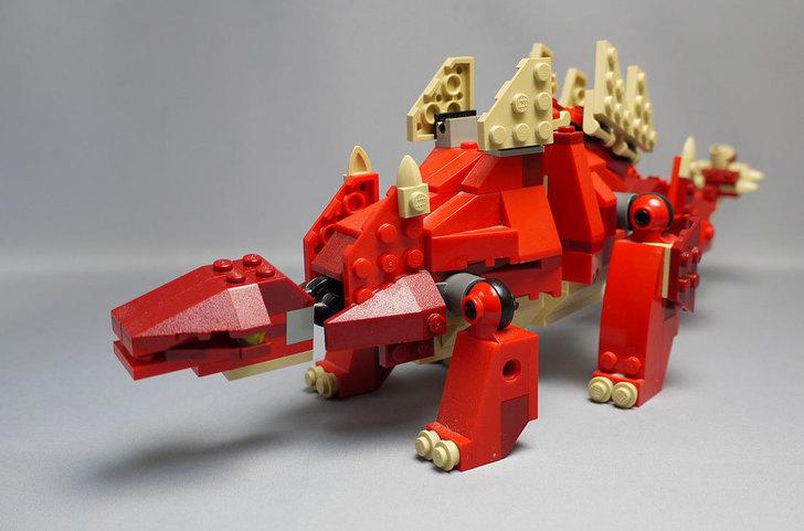 LEGO-4892-トリケラトプスの組み替えステゴザウルス13.jpg