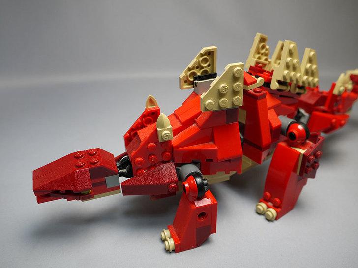 LEGO-4892-トリケラトプスの組み替えステゴザウルス14.jpg