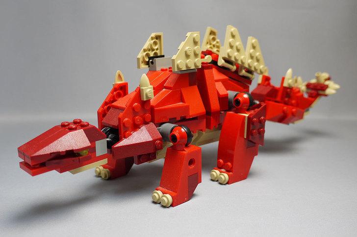 LEGO-4892-トリケラトプスの組み替えステゴザウルス9.jpg