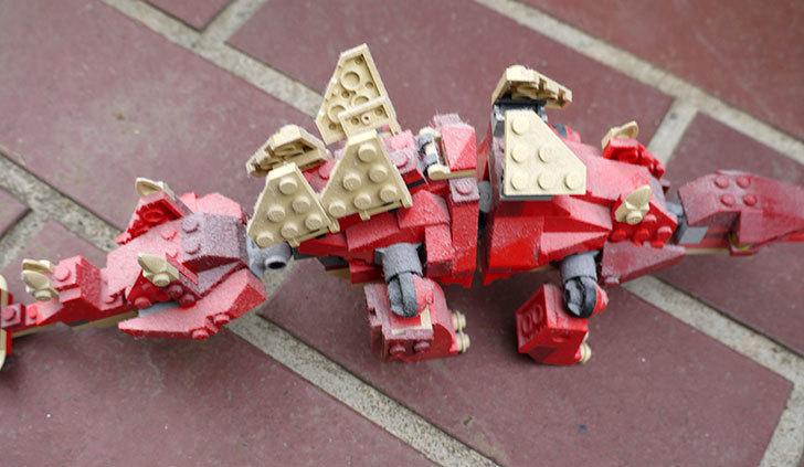 LEGO-4892-トリケラトプスの組み替えステゴザウルスの掃除をした2.jpg
