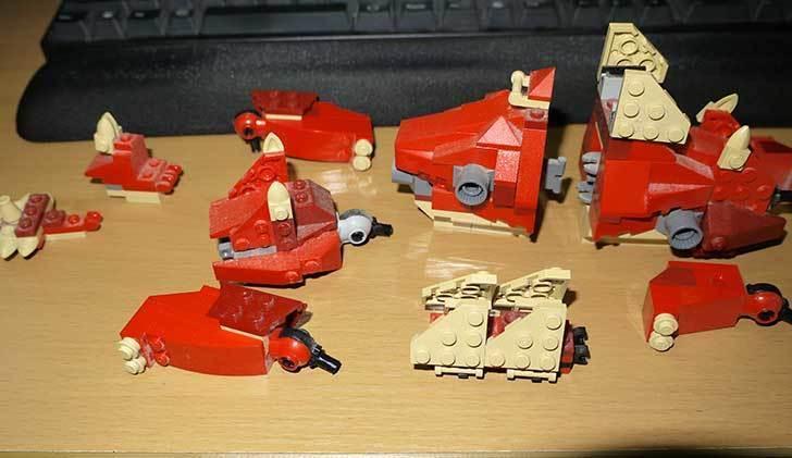 LEGO-4892-トリケラトプスの組み替えステゴザウルスの掃除をした4.jpg