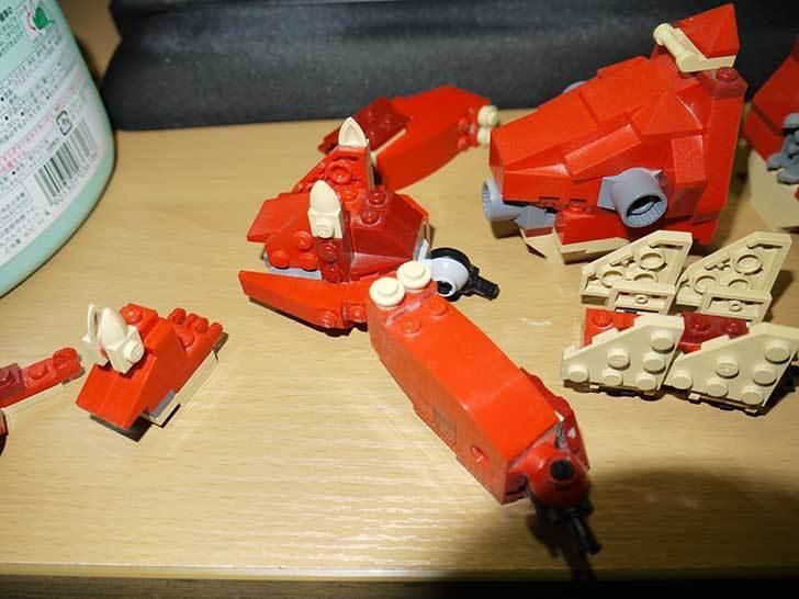 LEGO-4892-トリケラトプスの組み替えステゴザウルスの掃除をした7.jpg