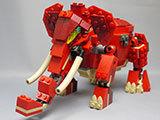 LEGO-4892-トリケラトプスの組み替えマンモス-完成品表示用1.jpg
