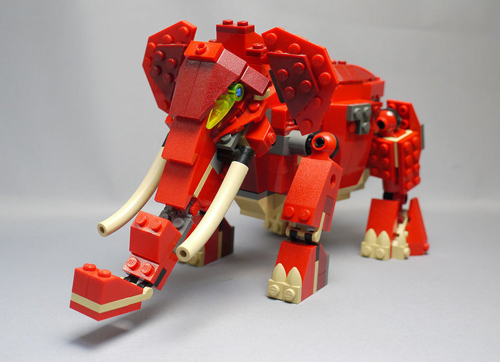 LEGO-4892-トリケラトプスの組み替えマンモス1.jpg