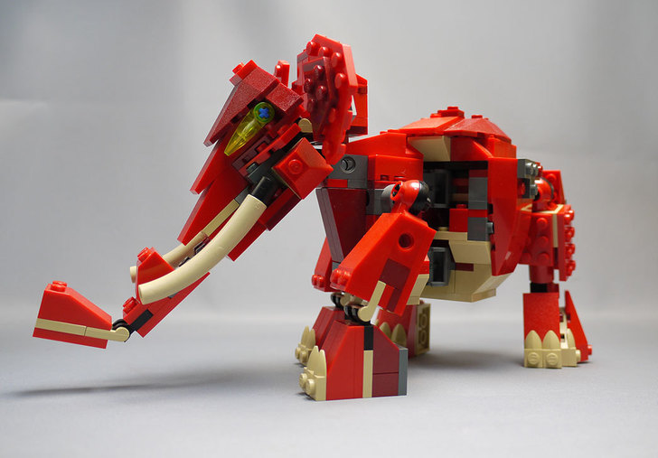 LEGO-4892-トリケラトプスの組み替えマンモス11.jpg