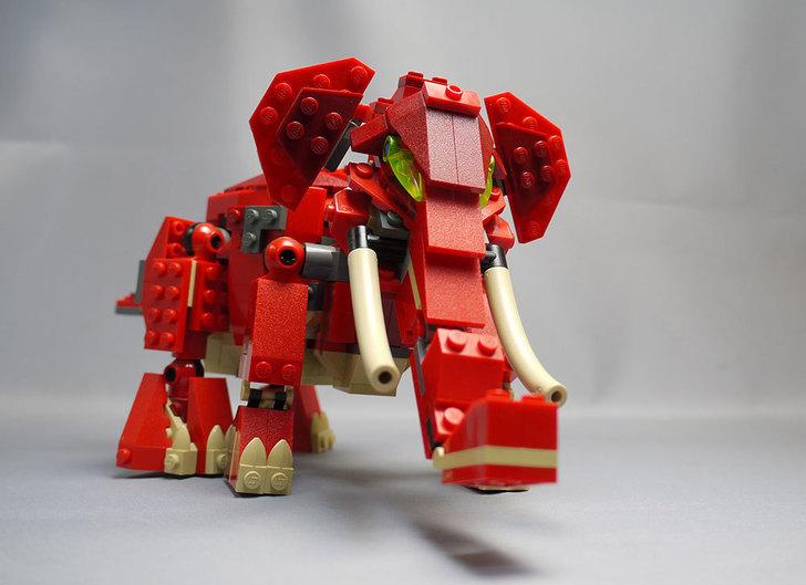 LEGO-4892-トリケラトプスの組み替えマンモス13.jpg