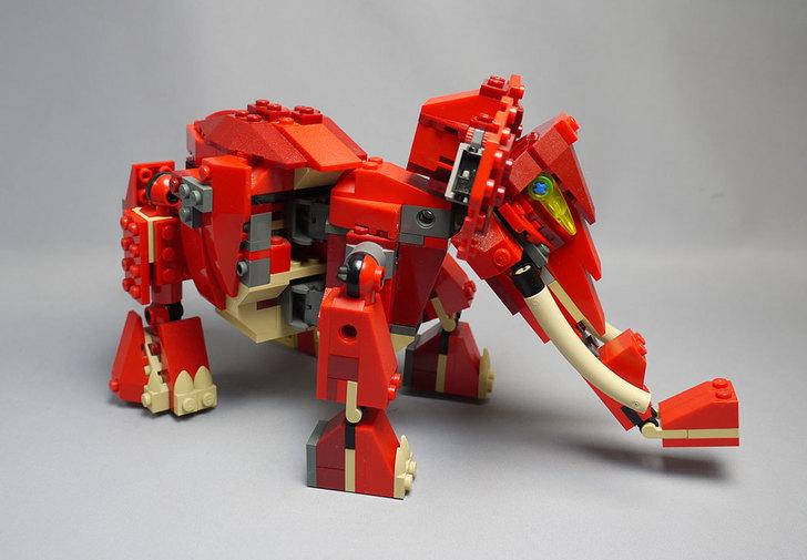 LEGO-4892-トリケラトプスの組み替えマンモス14.jpg