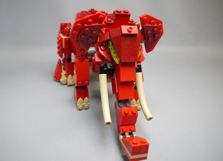LEGO-4892-トリケラトプスの組み替えマンモス15.jpg