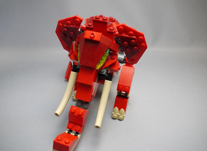 LEGO-4892-トリケラトプスの組み替えマンモス16.jpg