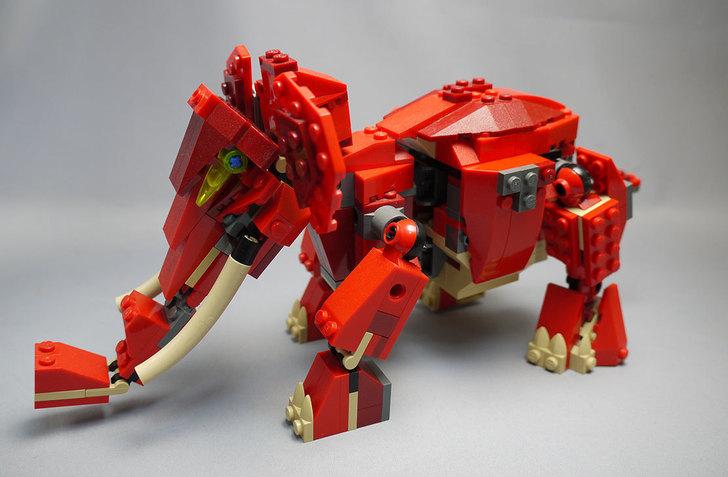 LEGO-4892-トリケラトプスの組み替えマンモス18.jpg