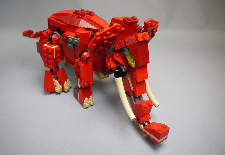 LEGO-4892-トリケラトプスの組み替えマンモス21.jpg