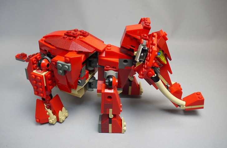 LEGO-4892-トリケラトプスの組み替えマンモス22.jpg