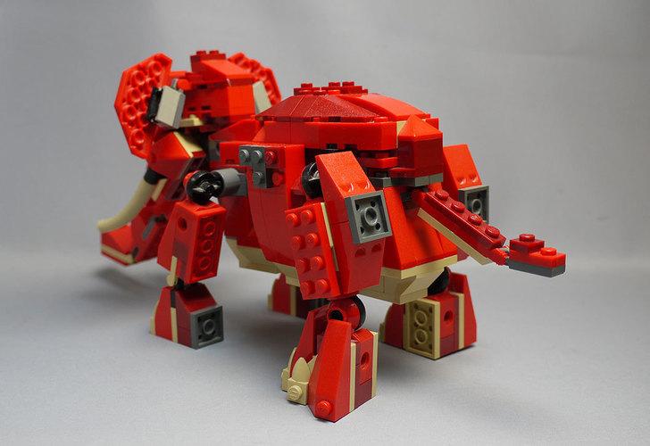 LEGO-4892-トリケラトプスの組み替えマンモス3.jpg