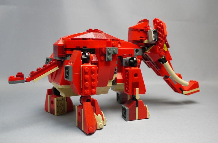 LEGO-4892-トリケラトプスの組み替えマンモス5.jpg