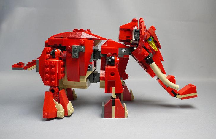 LEGO-4892-トリケラトプスの組み替えマンモス6.jpg