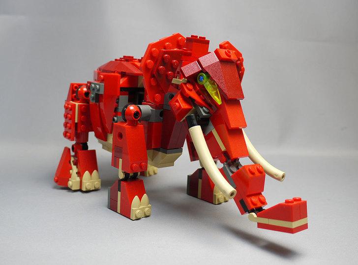 LEGO-4892-トリケラトプスの組み替えマンモス7.jpg