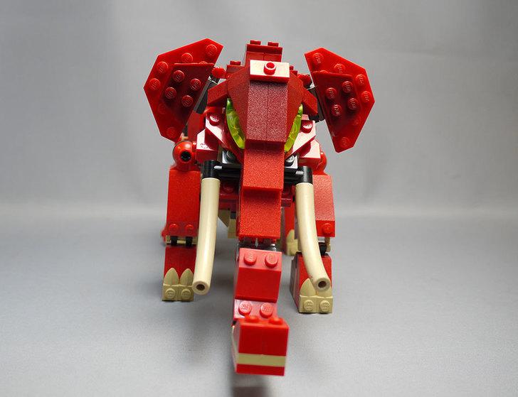 LEGO-4892-トリケラトプスの組み替えマンモス8.jpg
