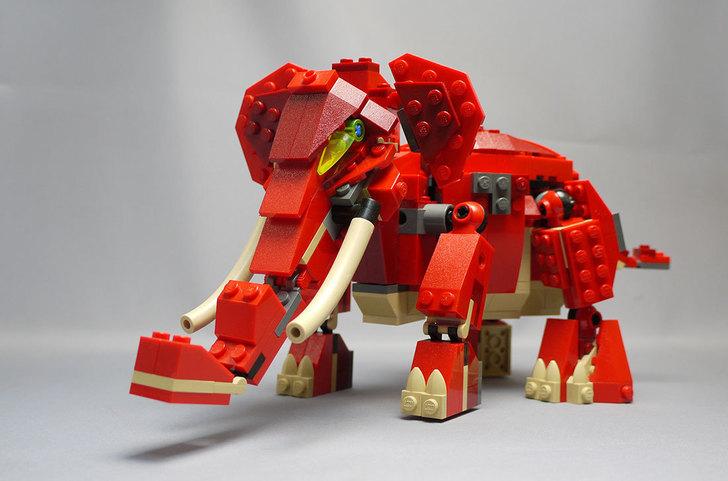 LEGO-4892-トリケラトプスの組み替えマンモス9.jpg