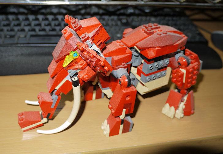 LEGO-4892-トリケラトプスの組み替えマンモスの掃除をした1.jpg