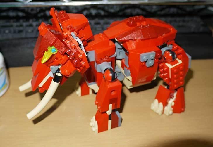 LEGO-4892-トリケラトプスの組み替えマンモスの掃除をした11.jpg