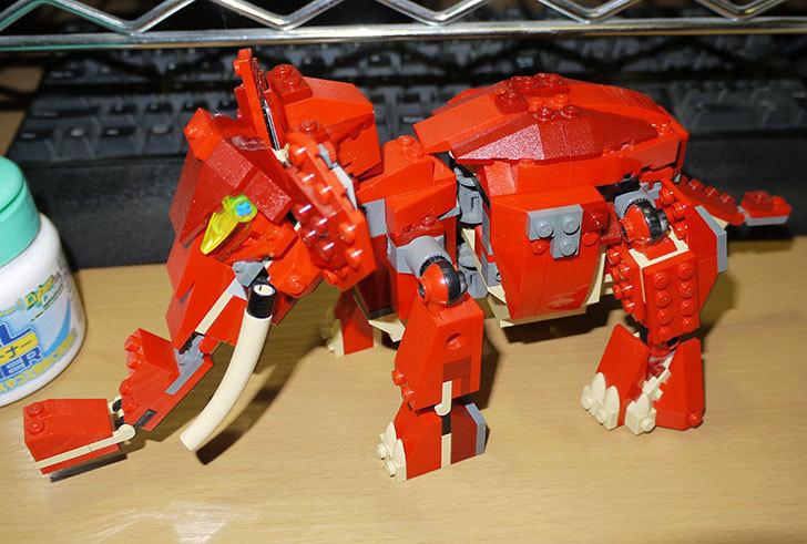 LEGO-4892-トリケラトプスの組み替えマンモスの掃除をした12.jpg