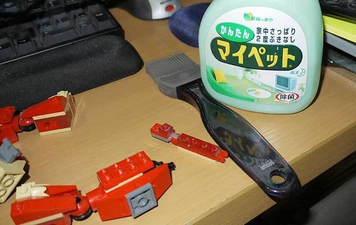 LEGO-4892-トリケラトプスの組み替えマンモスの掃除をした3.jpg