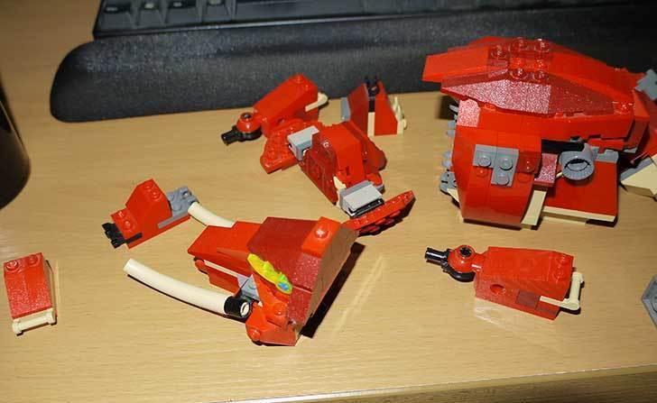 LEGO-4892-トリケラトプスの組み替えマンモスの掃除をした5.jpg