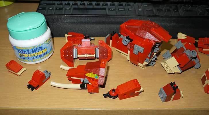 LEGO-4892-トリケラトプスの組み替えマンモスの掃除をした6.jpg