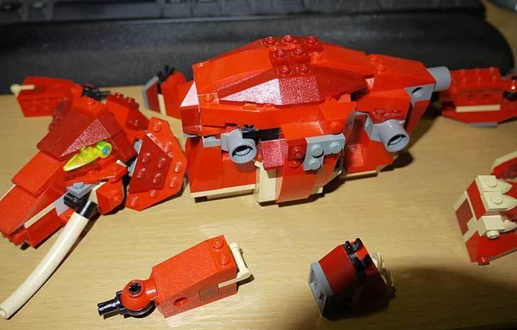 LEGO-4892-トリケラトプスの組み替えマンモスの掃除をした9.jpg