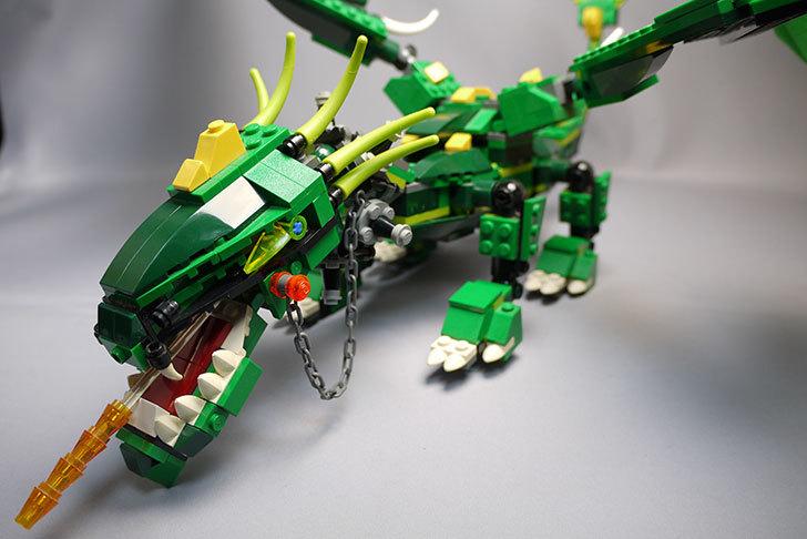 LEGO-4894-グリーンドラゴンの掃除をしたので写真を撮った1.jpg