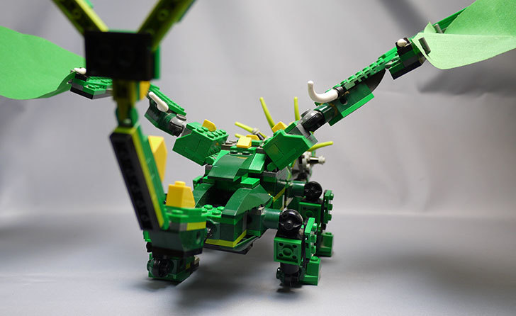 LEGO-4894-グリーンドラゴンの掃除をしたので写真を撮った14.jpg