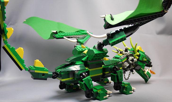 LEGO-4894-グリーンドラゴンの掃除をしたので写真を撮った15.jpg
