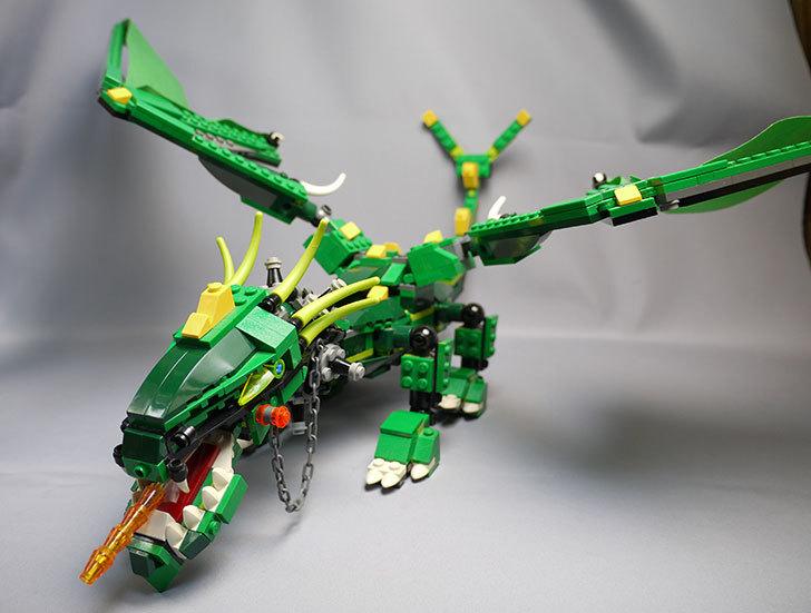 LEGO-4894-グリーンドラゴンの掃除をしたので写真を撮った2.jpg