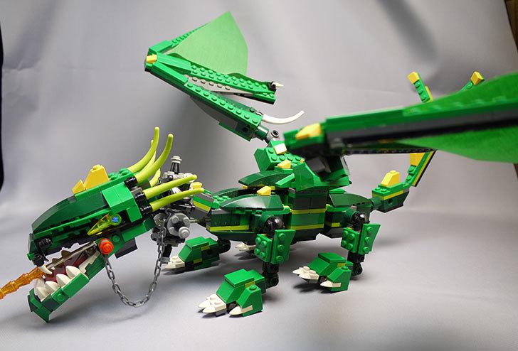 LEGO-4894-グリーンドラゴンの掃除をしたので写真を撮った4.jpg