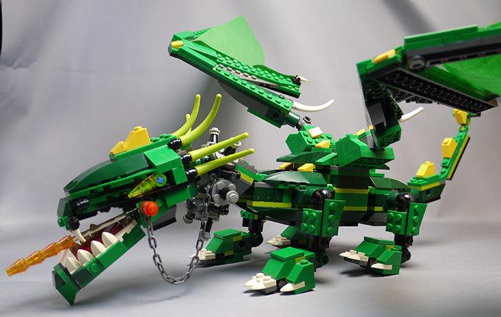 LEGO-4894-グリーンドラゴンの掃除をしたので写真を撮った5.jpg