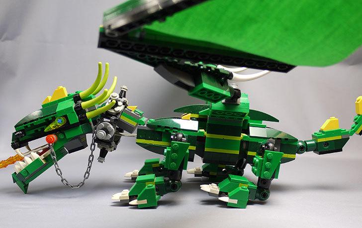 LEGO-4894-グリーンドラゴンの掃除をしたので写真を撮った8.jpg